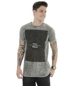 "Camiseta "" Full Empty"" Kaki - cea"