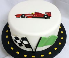 Flat Rate Designer Cakes Designer Cakes are our mid-level cake, being something of a cross between our grab-and-go Gourmet cakes, and our highly decorative One Year Birthday Cake, Race Car Birthday, Birthday Cakes For Men, Birthday Ideas, Car Cakes For Men, Race Car Cakes, Rose Cake Tutorial, Fondant Tutorial, Cars Cake Design