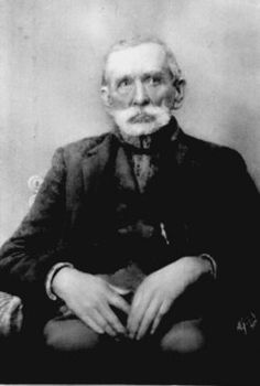 """RANDOLPH """"RANDALL"""" McCOY  Birth: 1825, USA  Death: 1914, USA    Folk Figure. He was the patriarch of the famous McCoy family of Kentucky. During the 1860s a feud began with his neighbor Anderson 'Devil Anse' Hatfield, which they decided to try and settle with guns. The feuding between the two families lasted for over 50 years. The incident gained national attention and became known simply as 'the Hatfield-McCoy feud"""