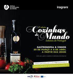 """Festival de Gastronomia """"Cozinhas do Mundo"""" na 6ª edição"""