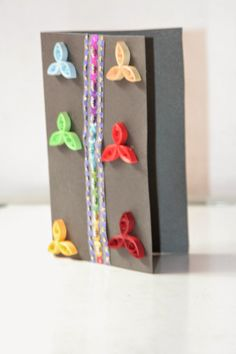 Paper Quilling Handmade Card by Quillicious