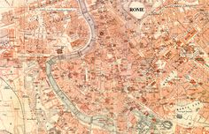 map of Rome in the public domain, free for you to use any way you like.