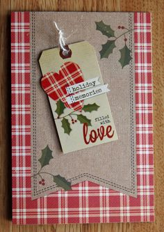 Simple Stories Christmas Cards by Guest Designer Michelle Wofford for #CraftWarehouse