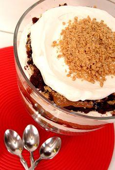 Chocolate Toffee Trifle