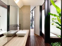 Lines of Light Terrace House in Singapore by HYLA Architects | Urukia