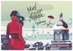 Burberry is creating a special seasonal collaboration with French department store Printemps for the holidays on the theme of 'Noel Voyage Magique (magical Christmas journey) extending across campaign materials and a pop-up store. — AFP pic