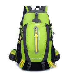 Baijinrui 40L Waterproof Hiking Bag / Camping Backpack / Travel Daypack / Casual Backpack for Outdoor Climbing *** Discover this special outdoor gear, click the image : Backpack