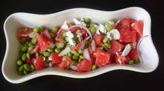 Time for a fabulous watermelon salad!  Check out Claire Idhammar's DelizieDelizie on Facebook and on the web for fabulous recipes.