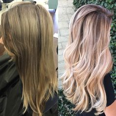 "Chrissy Rasmussen (@hairby_chrissy) owner of Habit Salon in Gilbert, Arizona, has a wonderful Instagram page filled with lots of pretty, long blonde hair. When we saw this transformation we had to know more. ""This first time client came with a bumped base which turned to brass with yellow ends,"" she says. ""She was looking to brighten and go a bit ashier."" Here Rasmussen shares the HOW TO:"