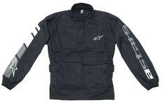 Alpinestars RJ-5: Neck, wrist and waist adjustment.  Lightweight mesh lining.  Oversize design.  Front storage pocket.