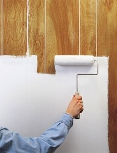 How to Paint Wood Paneling - Zinsser Primer