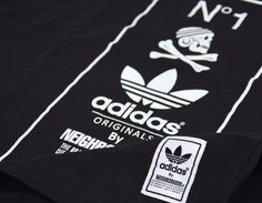 Tee-Shirt #adidas by #Neighborhood Black