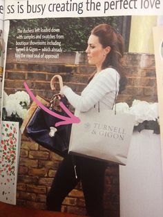 New pic of Catherine shopping. In Australia's New Idea magazine.