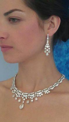 Wow! De Beers Diamonds always look better on skin don't they?