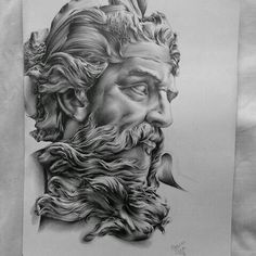 tattoo zeus design ~ tattoo zeus - tattoo zeus mythology - tattoo zeus preto e cinza - tattoo zeus poseidon - tattoo zeus greek gods - tattoo zeus design - tattoo zeus realismo - tattoo zeus antebraço Zeus Tattoo, Statue Tattoo, Arm Tattoo, Design Tattoo, Tattoo Sleeve Designs, Sleeve Tattoos, Gott Tattoos, Bild Tattoos, Posiden Tattoo