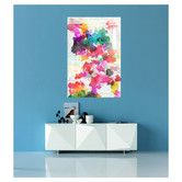 "Found it at Wayfair - Arcelia ""Inside Her Eyes"" Painting Print on Canvas"