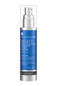 Resist Daily Smoothing Treatment 5% AHA #paulaschoice #fragrancefreeproducts #crueltyfreeproducts