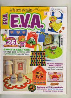 Artesanato com amor...by Lu Guimarães: Revista Arte com as mãos EVA n 5