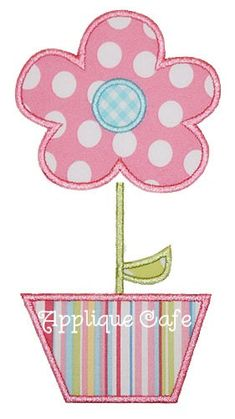 This listing is for a machine embroidery flower pot applique design. Appropriate hardware and software is needed to transfer these designs to your embroidery machine. Sizes include: hoop x hoop x hoop x All formats available (ART, PES, HUS, DST, Applique Tutorial, Applique Templates, Applique Embroidery Designs, Machine Embroidery Applique, Applique Quilts, Flower Applique Patterns, Owl Templates, Quilting Projects, Sewing Projects