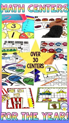 Math hands on center