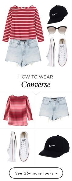 """Untitled #1928"" by danielasilva12 on Polyvore featuring Toast, Converse…"