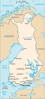 Finlandia - Mappa