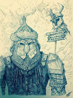 The Stonefoot Dwarves by DracarysDrekkar7