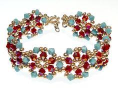 Nice right angle weave bracelet