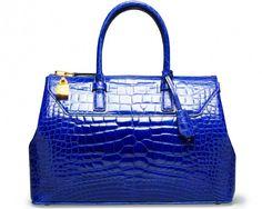 200 Tom Ford Blue Handbags, Purses And Handbags, Ladies Handbags, Leather Handbags, Tom Ford, Tote Bags, Women's Bags, Crocodile, Design Bleu