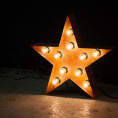 Ночники.Буквы с лампочками.Звезда с лампочками. Instagram: craft_and_lamp