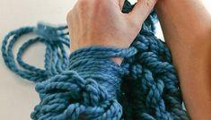 Cómo tejer con las manos