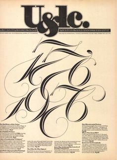 Herb Lubalin - U magazine