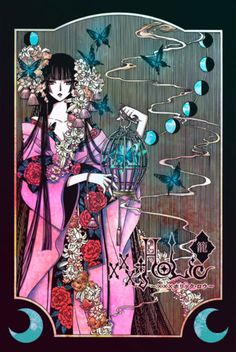 xxxHolic has some of the prettiest artwork. One of my all time, favorite manga series.