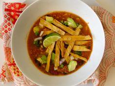 Warm Salt-Free Tortilla Soup