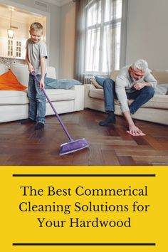 Do not damage your wood floors while cleaning. Instead, check out the best commercial cleaning solutions for your hardwood. Flooring 101, Best Commercials, Cleaning Solutions, Hardwood Floors, Good Things, Check, Wood Floor Tiles, Wood Flooring