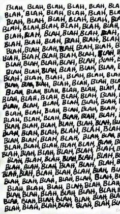 Blah.blah.blah.blah