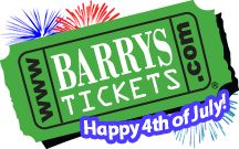 Barry's Tickets No Service Fees