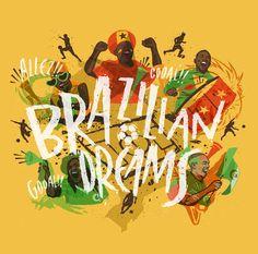 Ilustrações dos times africanos do Mundial 2014, por Jorge Lawerta - http://colecaodecamisas.com/ilustracoes-dos-times-africanos-mundial-2014-por-jorge-lawerta/ #colecaodecamisas #Copadomundo2014, #Jorgelawerta