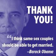 Obama endorses gay marriage lgbt