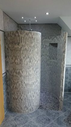 Schneckendusche Befliesbar Mosaik Duschwand | Heimwerker, Bad & Küche, Duschen | eBay!