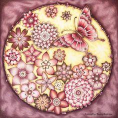 Finished!    #johannabasford #magicaljungle #magicaljunglecoloringbook #prismacolor #slicci #metallicgelpen #adultcoloring #adultcoloringbook #coloring #coloringbook #coloringforadults