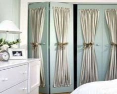 Closets and French doors