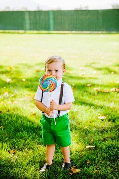 ring bearer with lollipop // photo by Kayla Adams