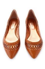 cognac pointy flats - Google Search