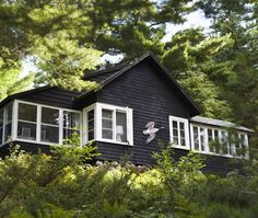 Canadian Summer Cottages — Inward Facing Girl