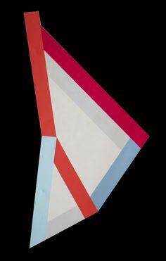 René Roche (1932-1992)  Destructurée, circa 1987-88  Acrylique sur toile  275 x 142 cm.