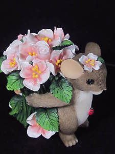 Charming Tails IF Friends Were Flowers I D Pick YOU Mouse Flowers | eBay