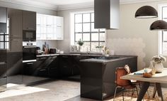Kitchen Island, Table, Furniture, Rue, Home Decor, France, Crystal, Innovative Products, Blanco Y Negro