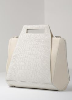 Starbox Mixed White Leather Handmade Handbags & Accessories - http://amzn.to/2ij5DXx