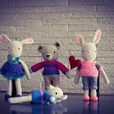 Love is in the air... #crochet #bears #amigurumi #dolls #toys #tejido #hechoamano #souvenirs #art #design